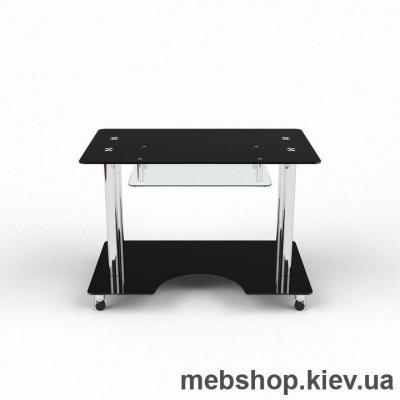 Купить Компьютерный стол из стекла БЦ Саванна (1300*750). Фото