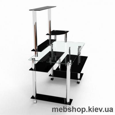 Компьютерный стол из стекла БЦ Сенатор (1400*880)