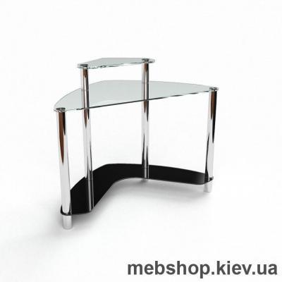 Компьютерный стол из стекла БЦ Софт (1100*1100)