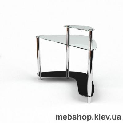 Компьютерный стол из стекла БЦ Софт (1200*1200)