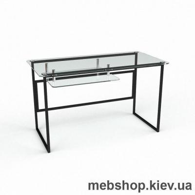 Компьютерный стол из стекла БЦ Твинс (1300*650)