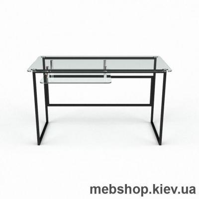 Купить Компьютерный стол из стекла БЦ Твинс (1300*650). Фото