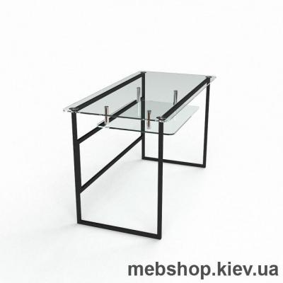 Компьютерный стол из стекла БЦ Твинс (1400*700)