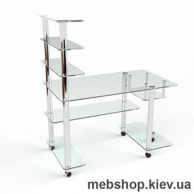 Компьютерный стол из стекла БЦ Терри (1100*600)