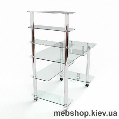 Компьютерный стол из стекла БЦ Терри (1400*750)