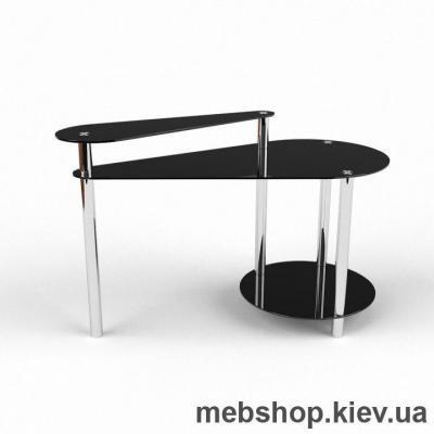 Компьютерный стол из стекла БЦ Фиерия (1400*650)