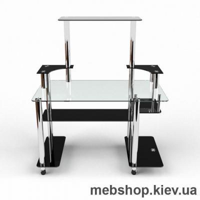 Компьютерный стол из стекла БЦ Фокус(1300*820)