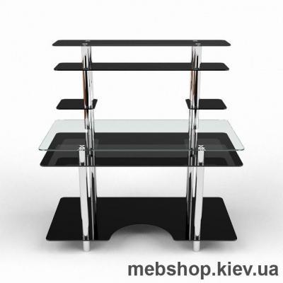 Компьютерный стол из стекла БЦ Юниор (1300*650)