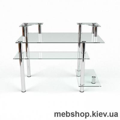 Компьютерный стол из стекла БЦ Юнона (900*650)