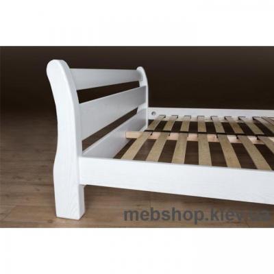 Кровать деревянная Монреаль(ясен белый)
