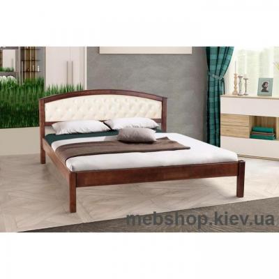 Кровать деревянная мягкая Джульетта