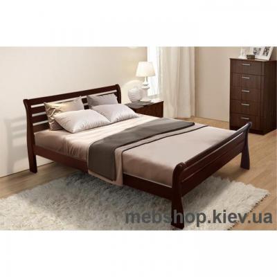 Кровать деревянная Ретро