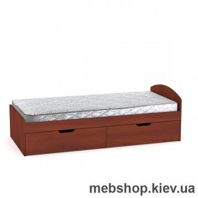 Кровать 90+2 ящика Компанит
