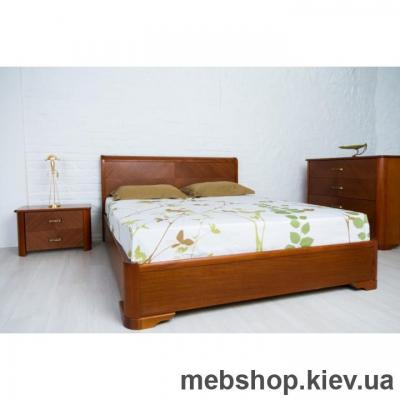 Кровать деревяная Олимп Милена с подъемной рамой