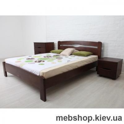 Кровать деревяная Олимп Нова без изножья