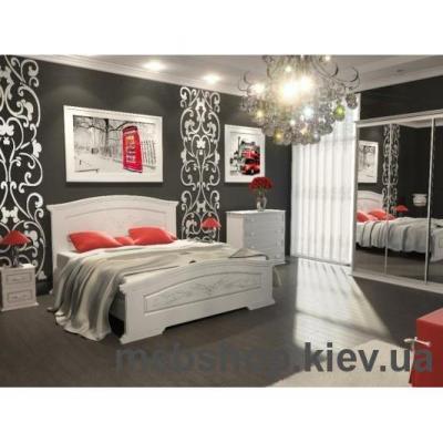 Кровать Инесса (Бюро Мебели)