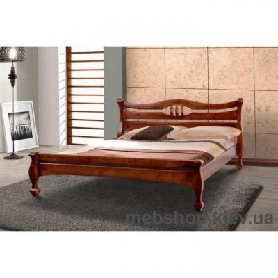 Кровать деревянная Динара МиксМебель