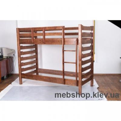 Кровать деревянная двухярусная Троя МиксМебель