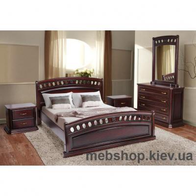 Купить Кровать деревянная Флоренция МиксМебель. Фото