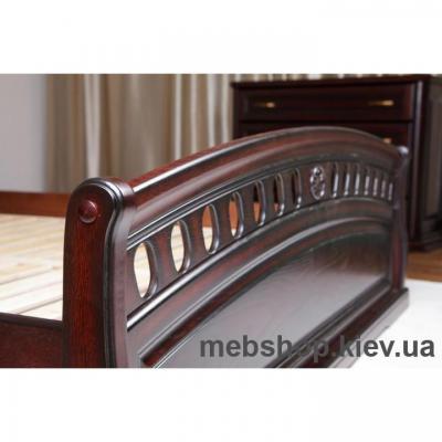Кровать деревянная Флоренция МиксМебель