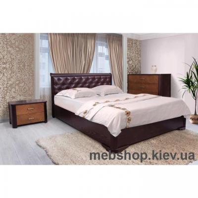 Кровать Деревянная мягкая Ассоль