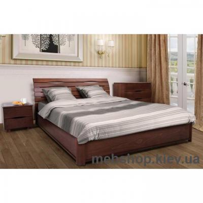 Купить Кровать деревянная Мария с подъёмным механизмом. Фото