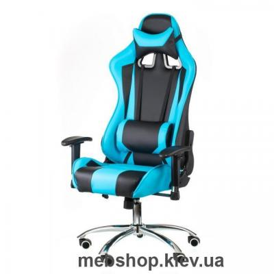 Кресло Special4You ExtremeRace black/blue (E4763)