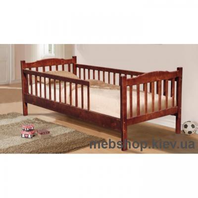 Кровать Юниор с двумя заборами (сосна) Микс Мебель