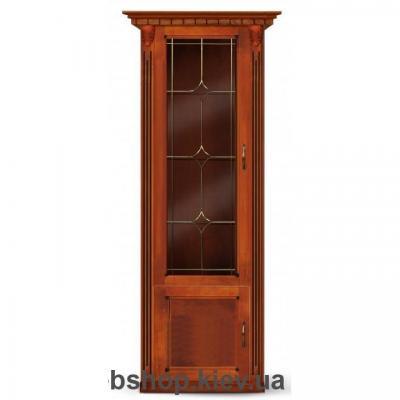 Купить Пенал Freedom с витражом (коричневый) Микс Мебель. Фото