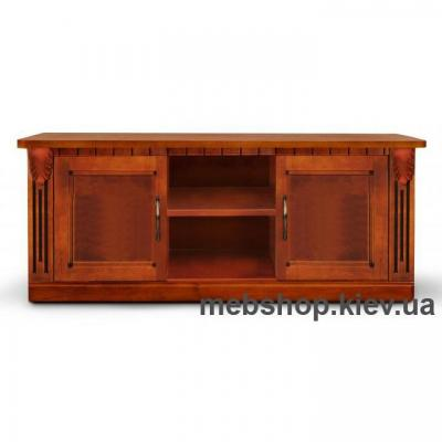 Тумба Freedom под ТВ (коричневая) Микс Мебель