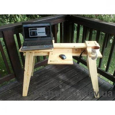 Стол компьютерный (сосна) SOLIDHORSE