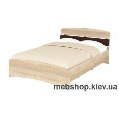 Кровать Кр-140 (Спальный гарнитур Милана) Пехотин