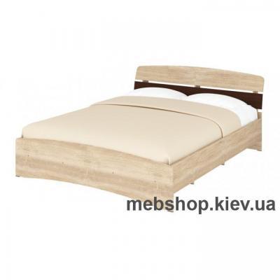Купить Кровать Кр-160 (Спальный гарнитур Милана) Пехотин. Фото
