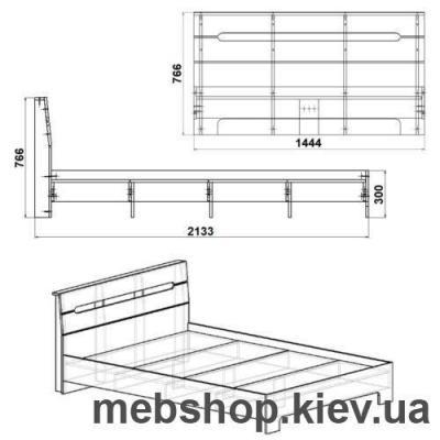 Кровать Стиль-140 Компанит