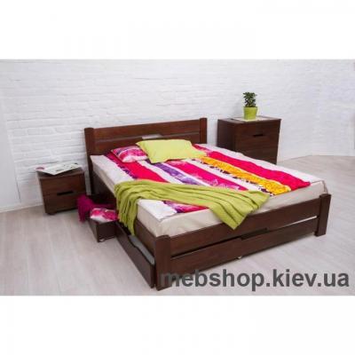 Кровать Айрис Микс Мебель (с ящиками)