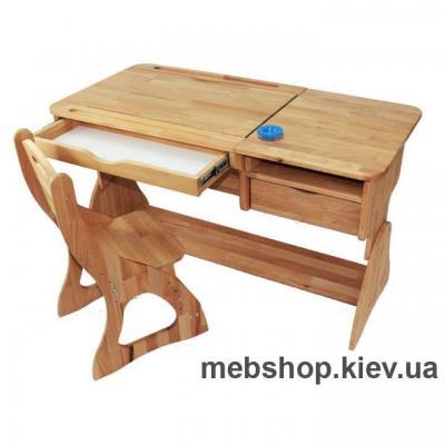 парта +стул растишка (с наклоном столешници) моблер