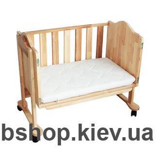 приставная кроватка моблер
