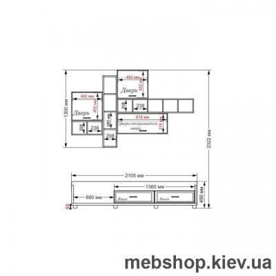 Гостиная-222 Тиса