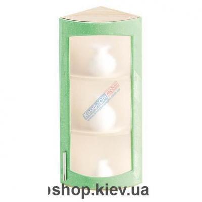 Шкаф радиусный с матовым стеклом Ф-4901(Комфорт Мебель)