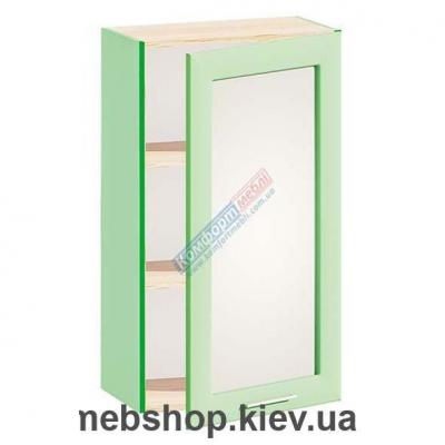 Шкаф навесной с зеркалом Ф-4905 (Комфорт Мебель)