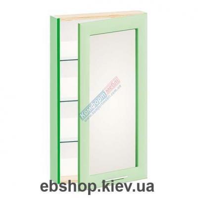 Купить Шкаф навесной с зеркалом Ф-4910 (Комфорт Мебель). Фото