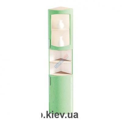 Шкаф напольный с матовым стеклом Ф-4911 (Комфорт Мебель)