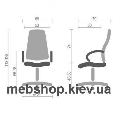 Кресло Софт Пич SFb-02 (Soft Peach SFb-02) • BARSKY • PL TILT