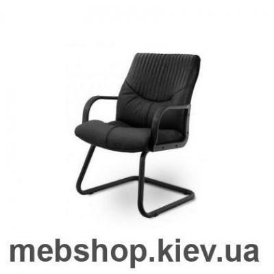 Кресло Гермес • Контур • BL LB CF чёрный (А-КЛАСС)