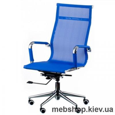 Кресло Special4You Solano mesh blue (E4916)