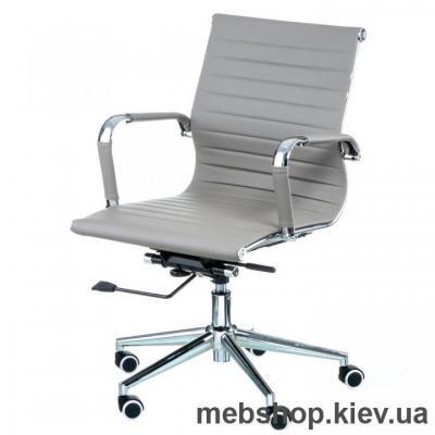 Купить Кресло Special4You Solano 5 artlеathеr grey (Е6071). Фото