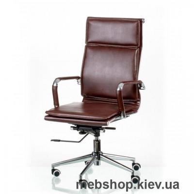 Купить Кресло Special4You Solano 4 artleather brown (E5227). Фото