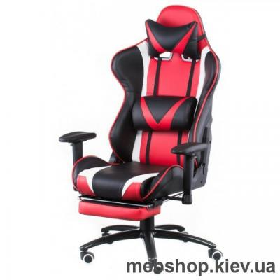 Купить Кресло Special4You ExtremeRace black/red with footrest (E4947). Фото