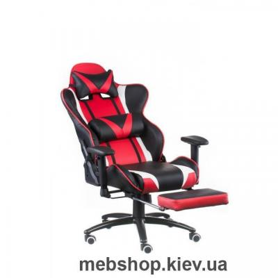 Кресло Special4You ExtremeRace black/red with footrest (E4947)