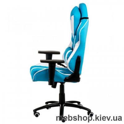 Кресло Special4You ExtrеmеRacе light blue\white (E6064)